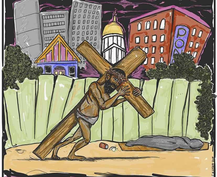 Good Friday Urban Stations of the Cross Digital Service